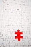 Missing Jigsaw piece Stock Image