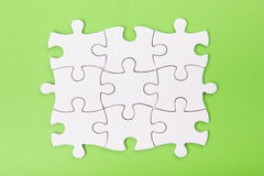 Missing jigsaw puzzle pieces. Business concept. Compliting final task Royalty Free Stock Photography