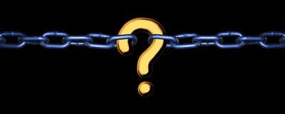 Free Missing Link - Gold On Black Stock Image - 3517661