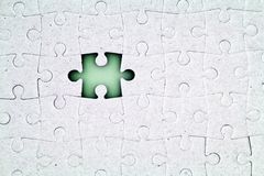 Missing Piece Royalty Free Stock Photo