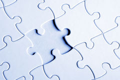 The Missing Piece Royalty Free Stock Photos