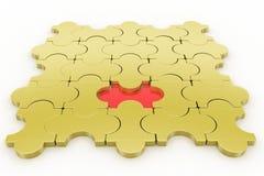 Missing piece - jigsaw Royalty Free Stock Photos