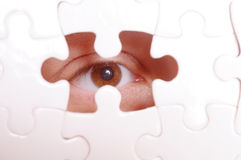 Missing Piece Of The Puzzle Stock Images