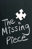 The Missing Piece Royalty Free Stock Image