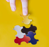 Missing Puzzle Royalty Free Stock Photo
