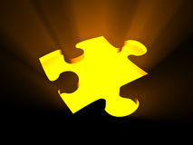 Missing Puzzle piece Royalty Free Stock Photo