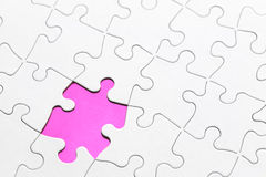 Missing Puzzle Piece royalty free stock image