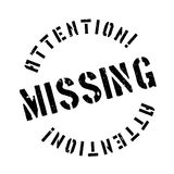 Missing rubber stamp Stock Photo