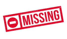 Missing rubber stamp Royalty Free Stock Photos
