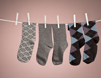 Missing sock Royalty Free Stock Photos