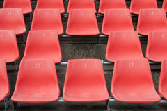 Missing Stadium Seat Stock Image
