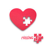 Missing you. Stock Photo