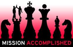 Mission accomplished Royalty Free Stock Images