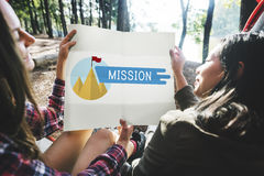Mission Aim Aspiration Ideas Strategy Vision Concept Royalty Free Stock Images