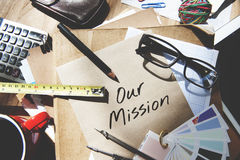 Mission Aspiration Goals Ideas Inspiration Vision Concept Royalty Free Stock Photography