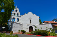 Mission Basilica San Diego de Alcalá - San Diego, CA. Mission Basilica San Diego de Alcalá was the first Franciscan mission in The Californians, a Royalty Free Stock Images