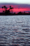 Mission Bay, Sunset, San Diego. Beautiful sunset at Mission Bay, Pacific Beach, San Diego royalty free stock photos