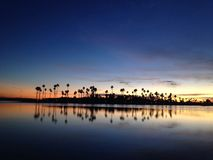 mission bay twilight, San Diego, California Royalty Free Stock Image