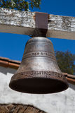 Mission Bell on Mission Trail Royalty Free Stock Image