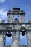 Mission bells. Bells at the Mission San Juan in San Antonio Texas Royalty Free Stock Photography