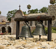 Mission Bells. Bells at Mission San Juan Capistrano Stock Photography