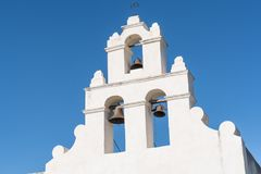 Mission Bells of San Juan Stock Photo