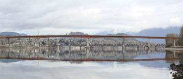 Mission Bridge in British Columbia Royalty Free Stock Images
