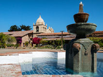 Mission Carmel, exterior Stock Photography