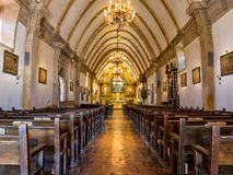 Mission Carmel, interior Royalty Free Stock Photography