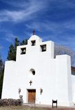 USA, New Mexico: Franciscan mission church Royalty Free Stock Photos