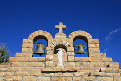 Mission church bells Royalty Free Stock Image