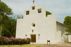 Mission church in stucco Stock Photography