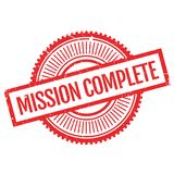 Mission complete stamp Royalty Free Stock Photo