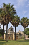 Mission Concepción Landscape Royalty Free Stock Photography