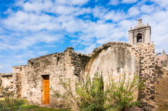 Mission Concepcion. Old mission in San Antonio, Texas Royalty Free Stock Photo
