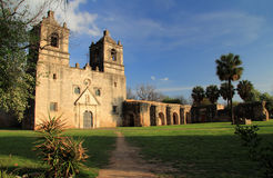 Mission Concepcion royalty free stock photography