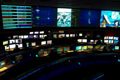Mission control at Jet Propulsion Lab Royalty Free Stock Photos