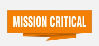 mission critique illustration libre de droits
