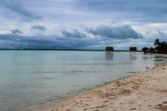 Mission d'île du Kiribati pendant l'été de 2016 Photo libre de droits