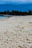 Mission d'île du Kiribati pendant l'été de 2016 Photos libres de droits