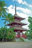 Mission de jodo de Lahaina sur l'île Hawaï de Maui Image libre de droits