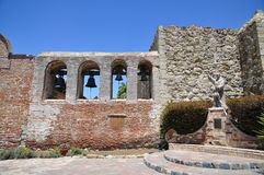 Mission de Lotos de San Juan Capistrano Images libres de droits