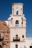 Mission de San Xavier Photos stock