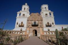 Mission de Xavier del bac de Sn dans Tucson Arizona Images libres de droits