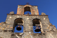 Mission Espada Belltower Royalty Free Stock Image
