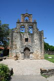 Mission Espada. Frontal view Old Mission Espada, the smallest mission Royalty Free Stock Images
