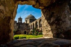 Mission espagnole San Jose, le Texas photos libres de droits