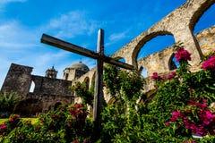 Mission espagnole San Jose, le Texas photos stock
