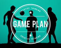 Mission Game Plan Tactics Planning Objective Concept.  Stock Photography