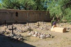 Mission Graveyard Stock Images